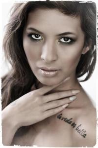 Model :  Dee Villanueva Photographer: Richard Briggs Make Up: Grace Simpson
