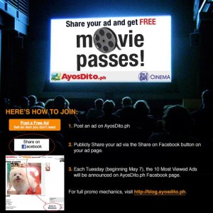 Win 100 FREE Movie Passes