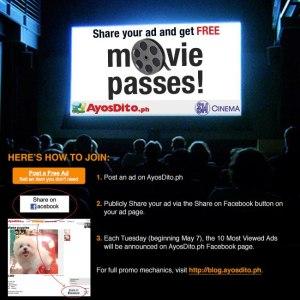 Win 100 FREE Movie Passes