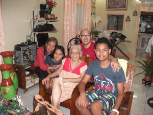 My relatives in Zambales. My Auntie and My GrandMother