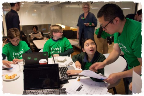 LAST NIGHT, AUSSIE KIDS BROKE THE WORLD RECORD FOR MOST NUMBER OF KIDS CODING IN ONE DAY