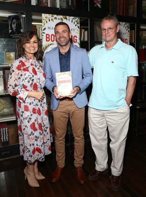 Lisa Wilkinson hosts Book launch for Marcus Riley's book, Booming